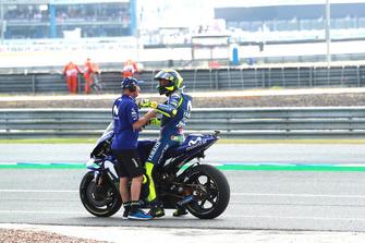 Valentino Rossi, Yamaha Factory Racing, mit Luca Cadalora