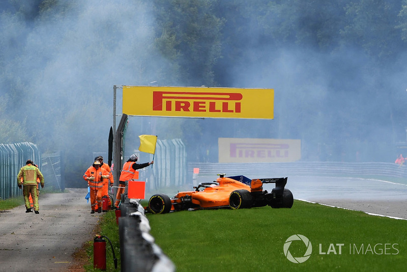 GP Belgia - Valtteri Bottas/Stoffel Vandoorne (FP3)