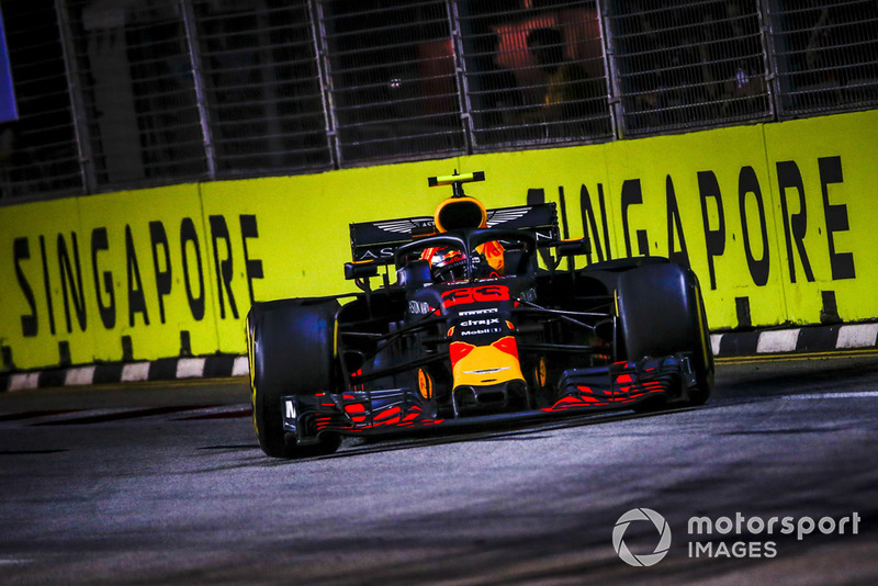GP de Singapur: Max Verstappen (2º en carrera)