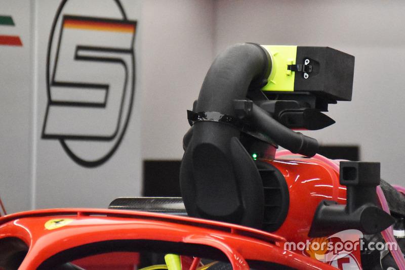 Sistema de refrigeración del Ferrari