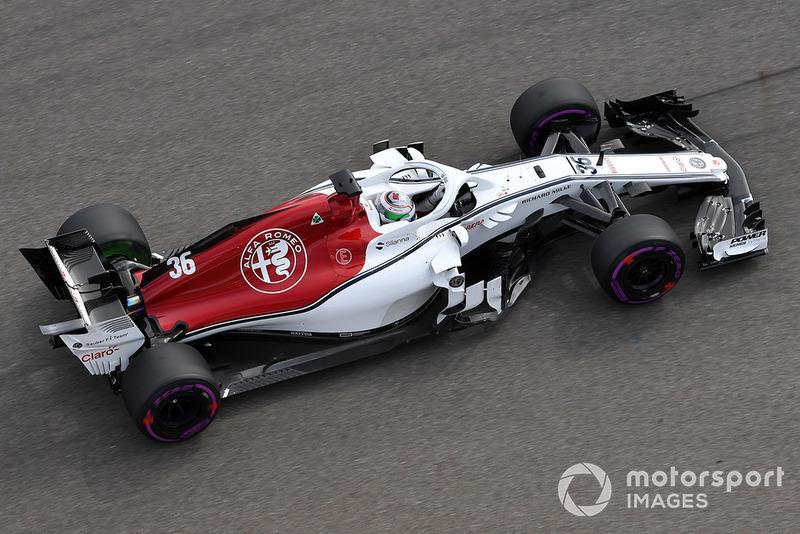 21 місце — Антоніо Джовінацці, Sauber. Умовний бал — 0,83