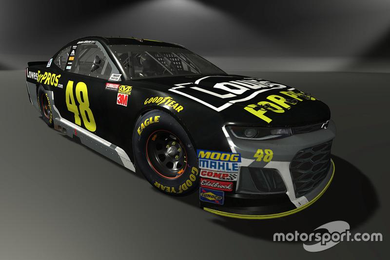Jimmie Johnson, Hendrick Motorsports, Chevrolet Camaro - NASCAR Heat 3 skin