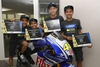 Para peserta Yamaha VR46 Master Camp edisi keenam