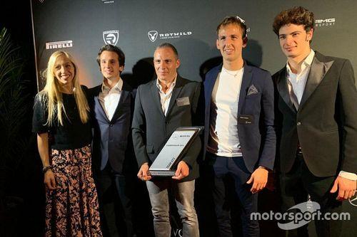 Premiazione Mercedes Customer Racing