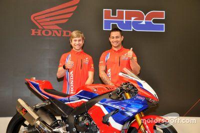 Presentación del Honda Team