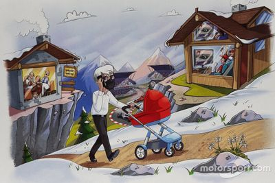 Carte de noël de Bernie Ecclestone