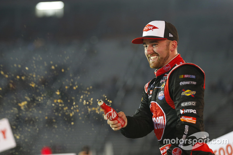 Il vincitore della gara Austin Dillon, Richard Childress Racing Chevrolet