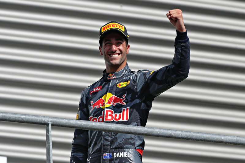 Podyum: Daniel Ricciardo, Red Bull Racing