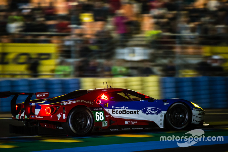 #68 Ford Chip Ganassi Racing Ford GT: Джоі Хенд Дірк Мюллер, Себастьян Бурде