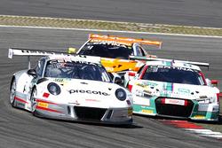 #99 Precote Herberth Motorsport Porsche 911 GT3 R: Robert Renauer, Martin Ragginger; #29 Montaplast by Land-Motorsport, Audi R8 LMS: Connor De Phillippi, Christopher Mies