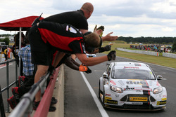 Race winner Mat Jackson, Motorbase Performance