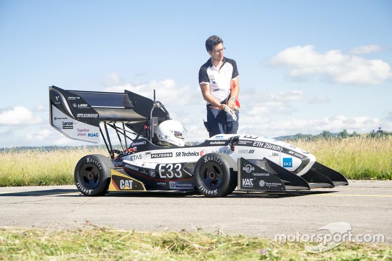 AMZ Racing mit neuem Beschleunigungsrekord