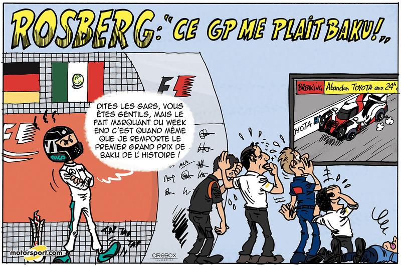 "GP d'Europe - Rosberg : ""Ce GP me plaît Baku !"""