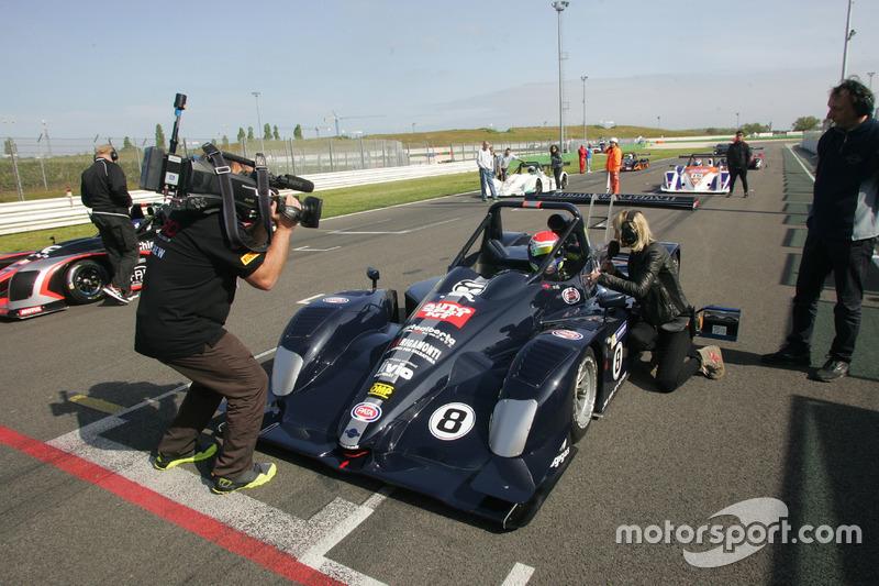 Davide Uboldi, Ligier JS Evo 2 E CN2 #8, Eurointernational, sulla griglia di partenza di Gara 1