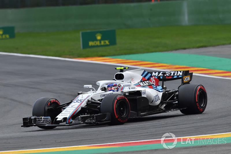 12. Sergey Sirotkin, Williams FW41