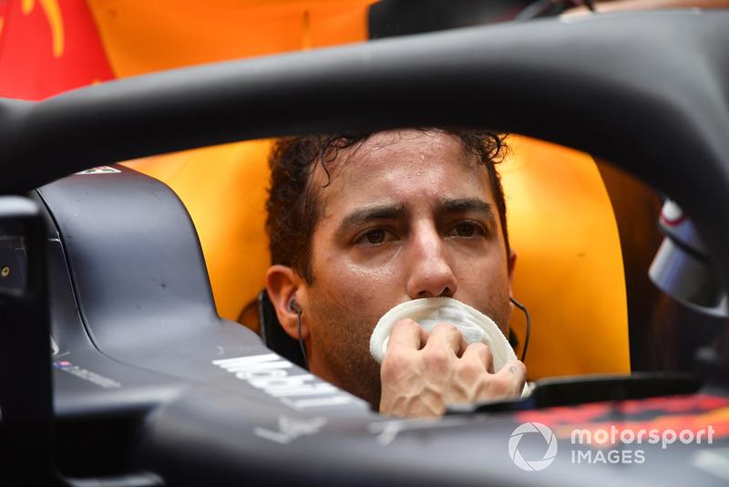 6 місце — Даніель Ріккардо, Red Bull — 164