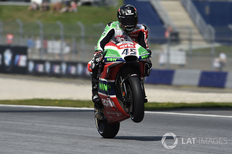 MotoGP Austria: Scott Redding, Aprilia Racing Team Gresini