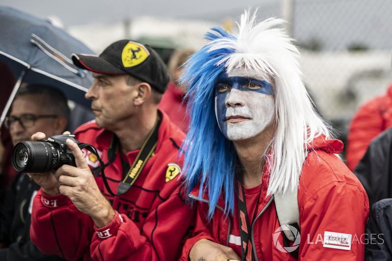 Fans Kimi Raikkonen, Ferrari