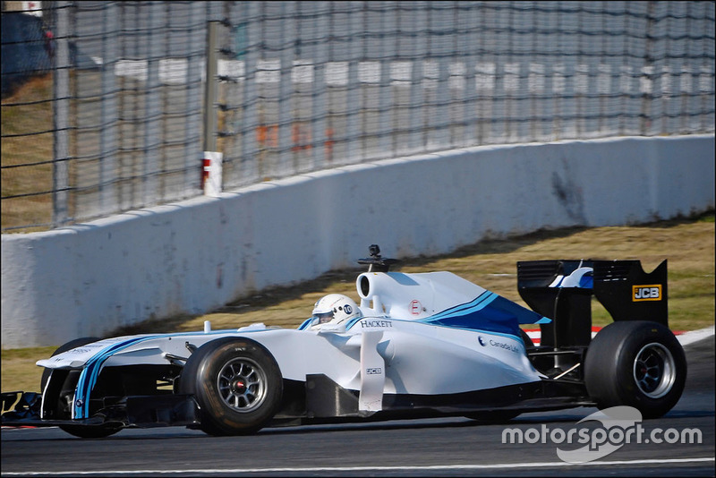 Tes mobil F1 Williams