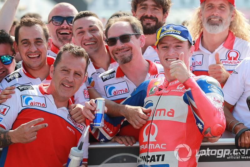 Друге місце у кваліфікації Джек Міллер, Pramac Racing