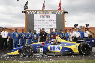 Ganador Alexander Rossi, Andretti Autosport Honda