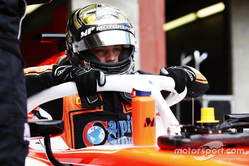 Dorian Boccolacci est un nouveau venu en Formule 2, remplaçant Roberto Merhi chez MP Motorsport
