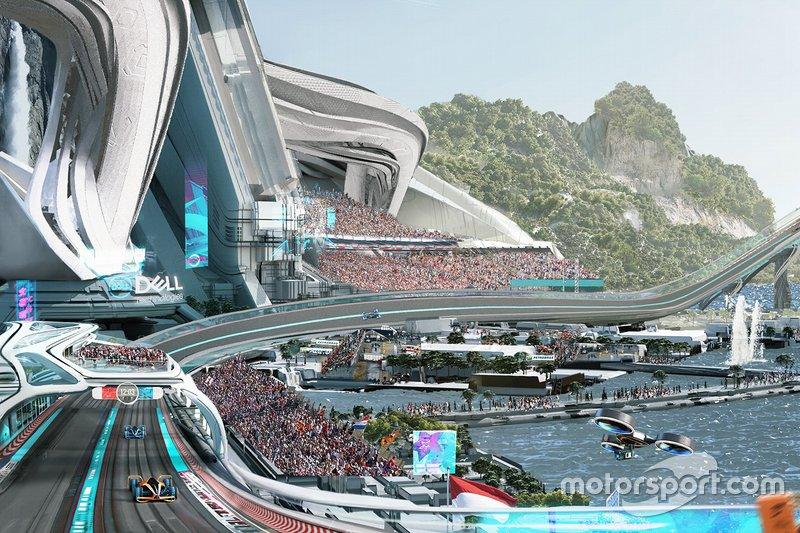 Гоночная трасса проекта McLaren 2050