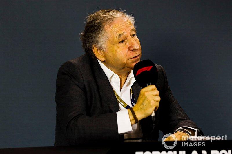 Президент FIA Жан Тодт