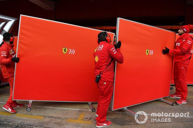 Mekanik Ferrari