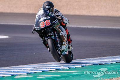 Moto2-Test in Jerez