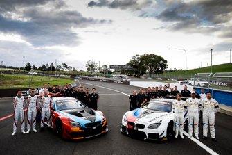 #34 Walkenhorst Motorsport BMW M6 GT3: Christian Krognes, Nicky Catsburg, Mikkel Jensen, #42 BMW Team Schnitzer BMW M6 GT3: Augusto Farfus, Chaz Mostert, Martin Tomczyk