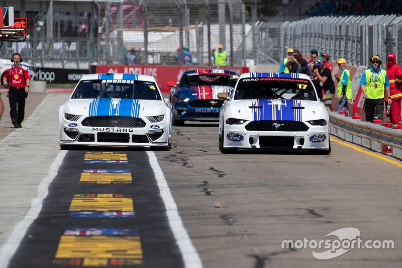 Dick Johnson, Ford Mustang, Marcos Ambrose, NASCAR Ford Mustang