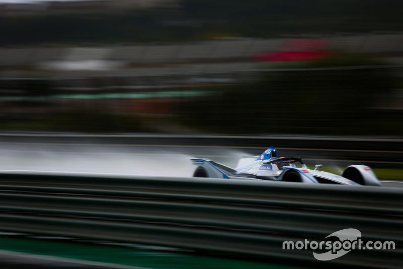 Formel-E-Test in Valencia