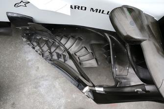 Бічний дефлектор Haas F1 Team VF-18