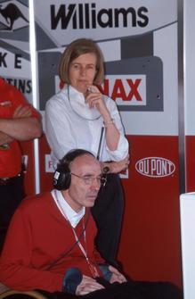 Frank Williams mit Ehefrau Virginia