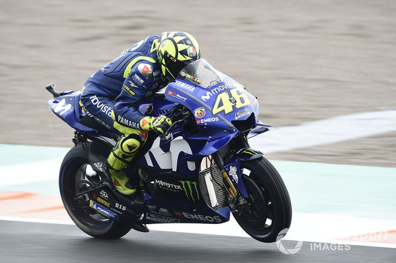 Valentino Rossi, Yamaha Factory Racing in Valencia