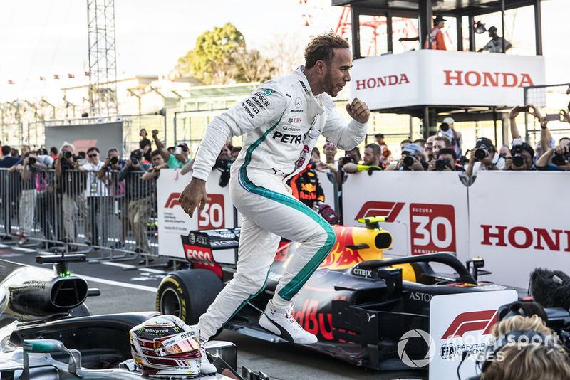 Hamilton dördüncü kez