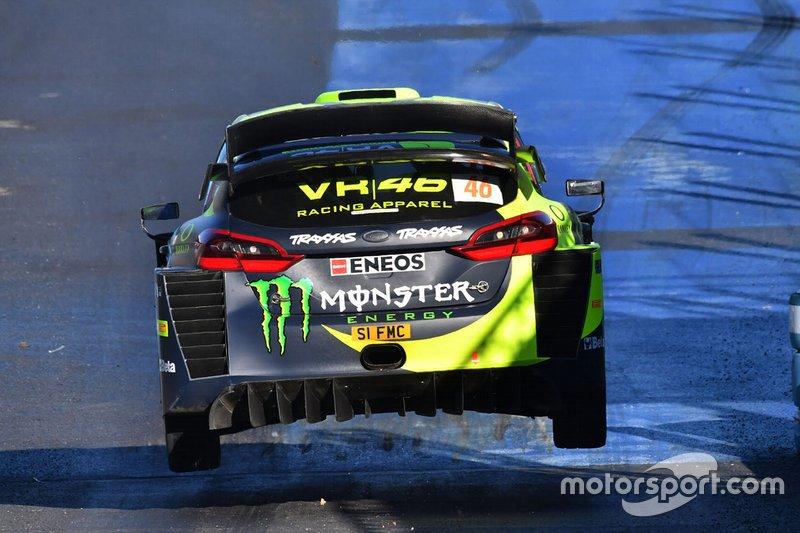 Valentino Rossi - Carlo Cassina (Ford Fiesta WRC)