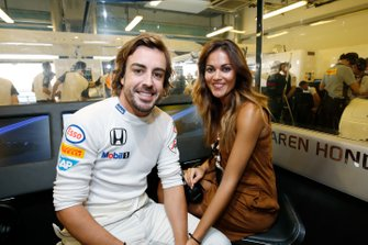 Lara Alvarez, girl friend of Fernando Alonso