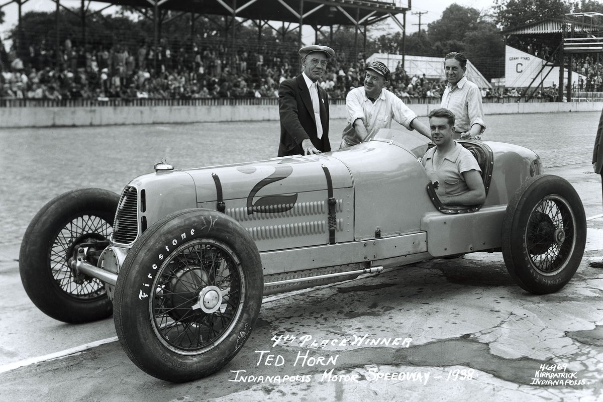 Horn found the Hartz-Miller sluggish when its newly enlarged fuel tank was full to the brim. A precautionary stop to check all was well would ruin his chances in 1938.