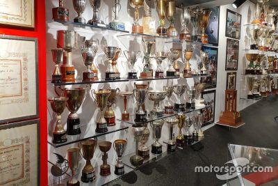 Sala de trofeos de Giacomo Agostini