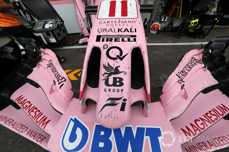 Force India VJM10: Frontflügel