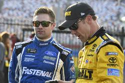 Ricky Stenhouse Jr., Roush Fenway Racing Ford, Matt Kenseth, Joe Gibbs Racing Toyota