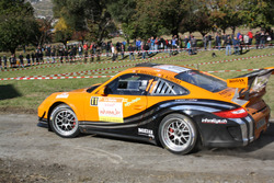 Marc Valliccioni e Sandra Arlettaz-Schmidly, Porsche 997 GT3 Cup RGT, Lugano Racing Team