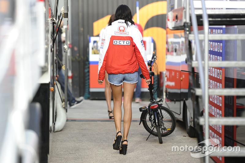 Lovely Octo Pramac Racing girl