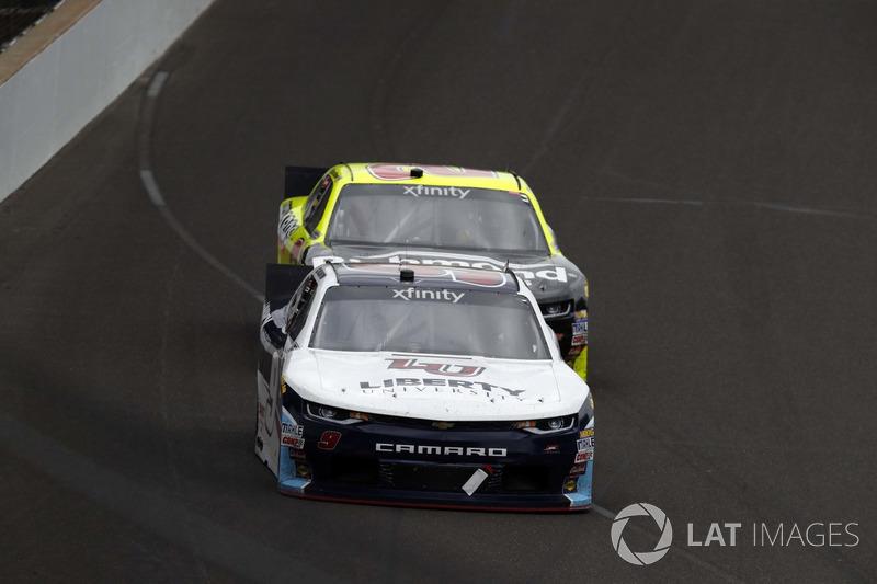 William Byron, JR Motorsports Chevrolet, Paul Menard, Richard Childress Racing Chevrolet