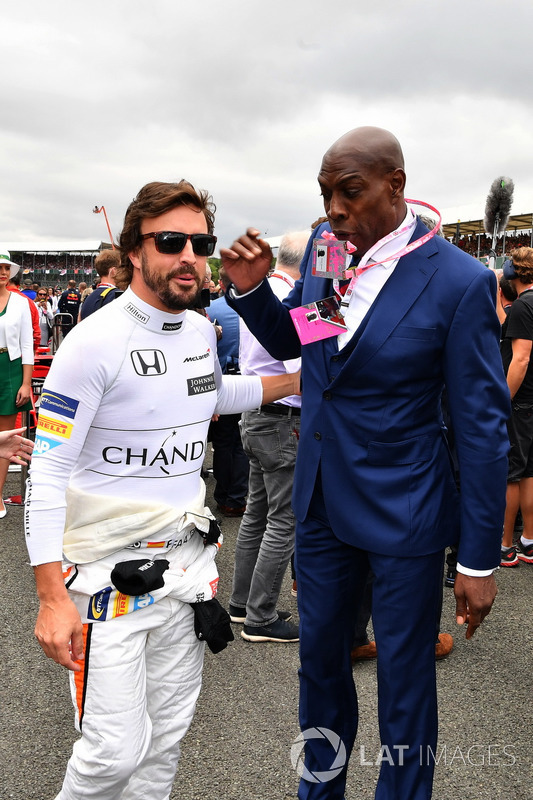 Fernando Alonso, McLaren and Frank Bruno