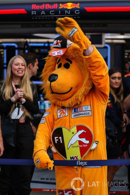 Уболівальник Макса Ферстаппена, Red Bull Racing