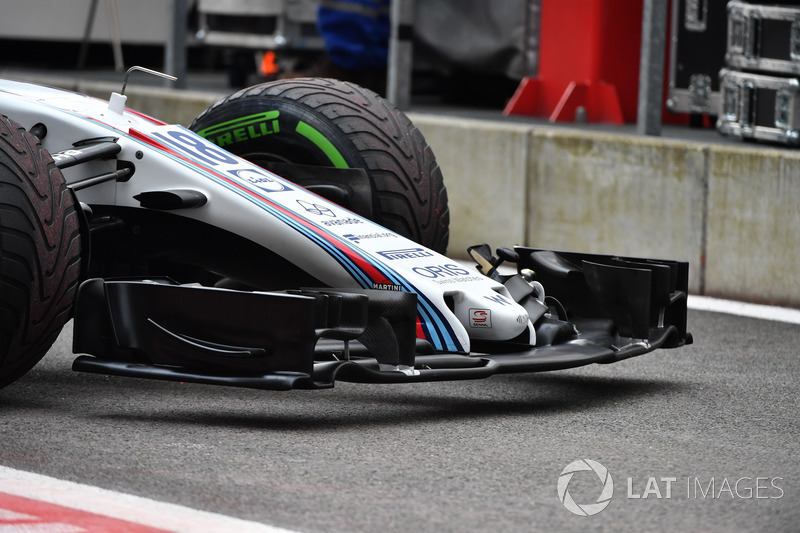 Williams FW40 nose and front wing