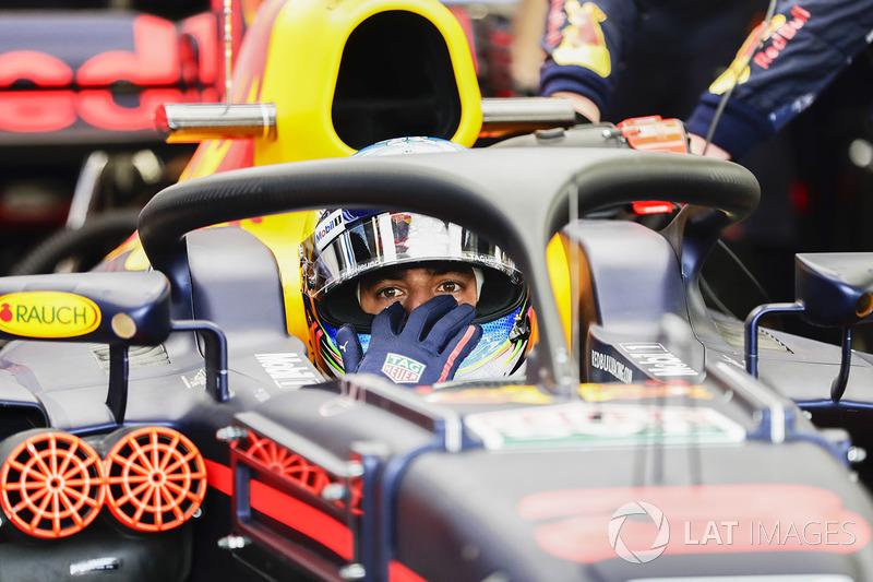 Daniel Ricciardo, Red Bull Racing con el halo